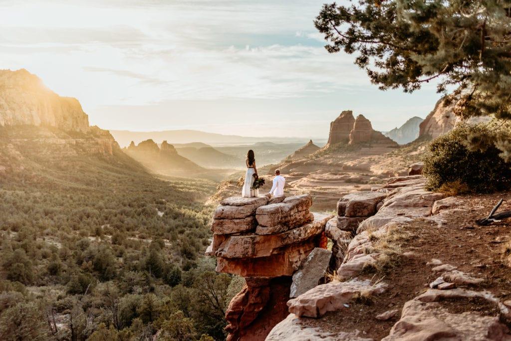 Merry Go Round Rock Wedding in Sedona Arizona