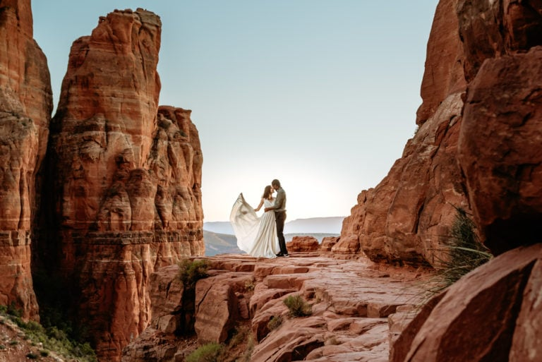 Cathedral Rock Elopement Planning