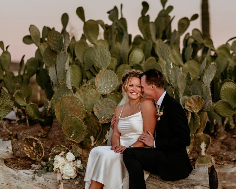 Intimate Diy Wedding at Wranglers Roost in AZ