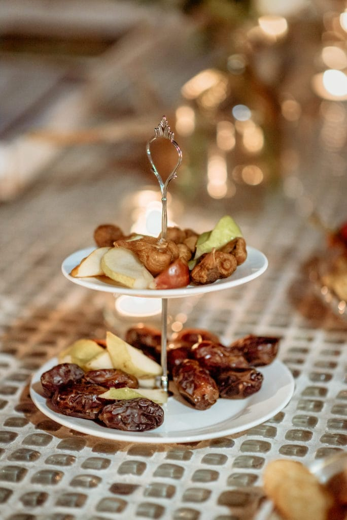 DIY tasty treats as part of the casual wedding reception
