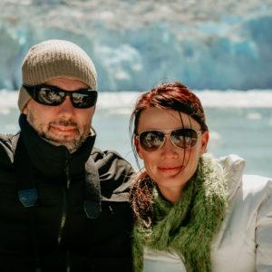 Shannon and Rigo Durazo in Alaska