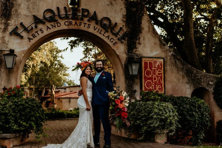 Tlaquepaque Wedding Inspiration- A desert Oasis in Sedona