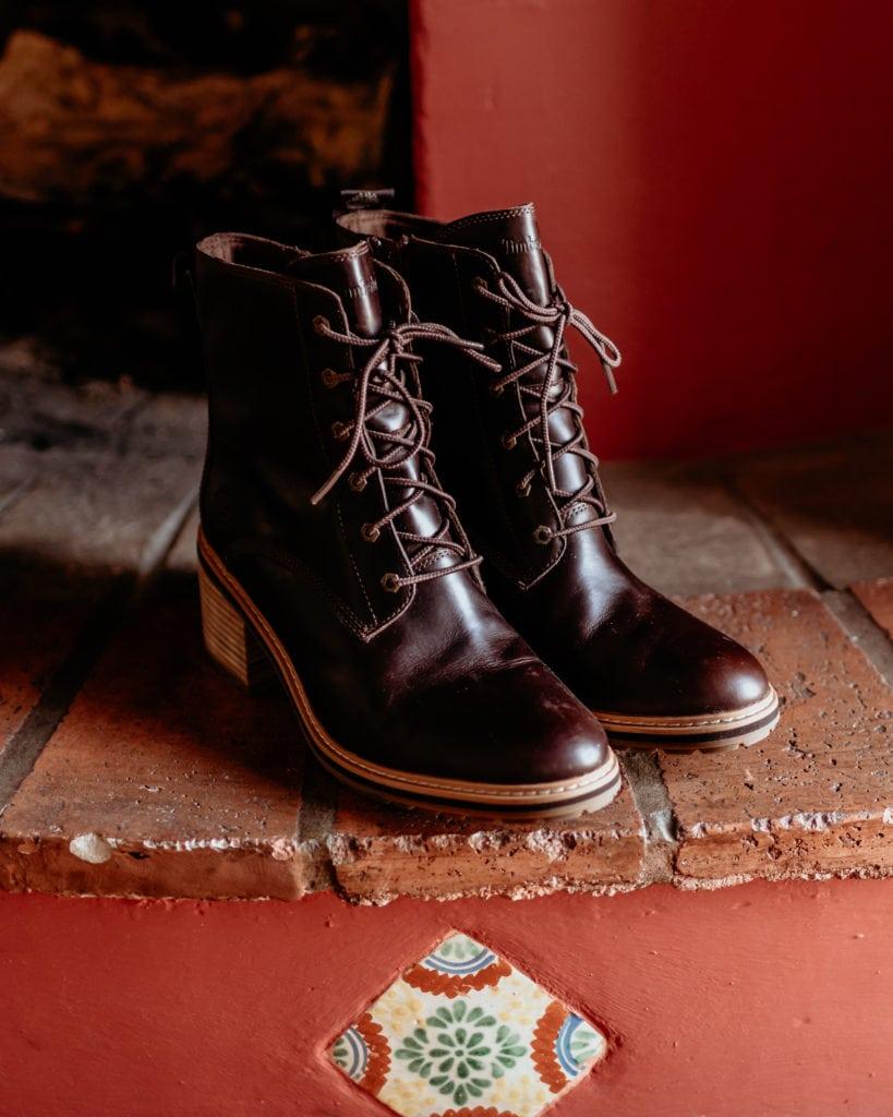 Timberland wedding boots